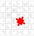 Background jigsaw puzzle vector image vector image