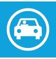Car sign icon vector image