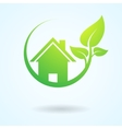 Green nature real estate vector image vector image