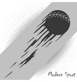 modern style baseball background with a vector image