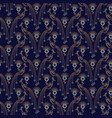 Peacock elegant seamless pattern