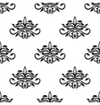 Seamless pattern for damask style fabric vector image vector image