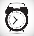 Simple Flat Design Alarm Clock Icon vector image vector image