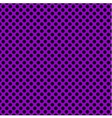 Tile pattern with black polka dots on violet vector image vector image