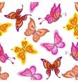Background butterflies vector image vector image