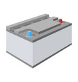 battery car single icon in cartoon style for vector image