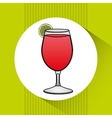 beverage menu design vector image vector image