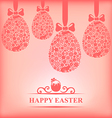 easter hang gentle vector image vector image