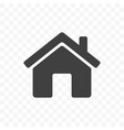 home icon mobile app and web site start main page vector image vector image