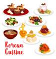 korean cuisine restaurant lunch icon asian food