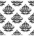 Persian style seamless floral motifs vector image