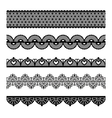 Seamless lace set vector | Price: 1 Credit (USD $1)