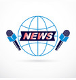 social telecommunication theme emblem created vector image vector image