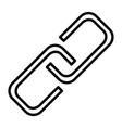 link line icon simple minimal pictogram vector image