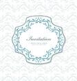 romantic a invitation for your design vector image