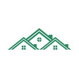 real estate group housing vector image vector image