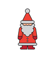 Santa Color Figurine vector image