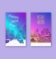trendy cover template philadelphia pennsylvania vector image vector image