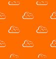 big cloud pattern seamless vector image vector image