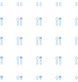 fork and spoon icon pattern seamless white vector image vector image