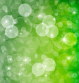 Green Abstract Spring Defocused Blurred Background vector image vector image