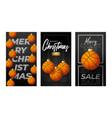 merry christmas basketball vertical greeting card vector image vector image