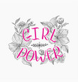 motivating words for women against background vector image