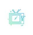 screen icon design vector image vector image