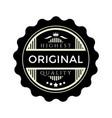 vintage badge design original quality premium vector image vector image