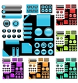 website elements vector image