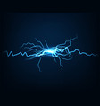 abstract background electric light spark flash vector image