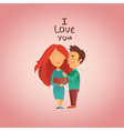 Couple in love 12 vector image
