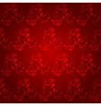 Floral seamless background for design vector image