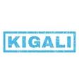 Kigali Rubber Stamp vector image vector image