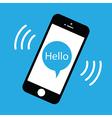 phone ringing vector image