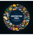 repair and construction logo design vector image vector image