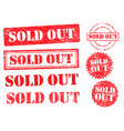 Sold out grunge ink stamp set
