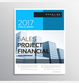 stylish modern business brochure and flyer vector image vector image