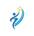success student school logo image vector image