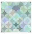 abstract pattern repetitive background green vector image