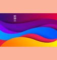 abstract waves background fluid creative template