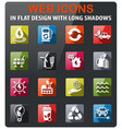 alternative energy icons set vector image vector image
