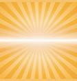 orange color burst vector image vector image