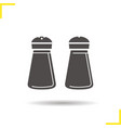 Salt and pepper shakers icon vector image vector image