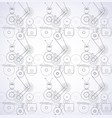 seamless machines vector image vector image