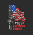 American soldier graphic