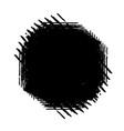 brushed stroke banner vector image vector image