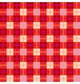 checkered plaid pattern vector image vector image