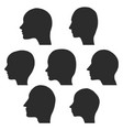 profiles of women and men vector image