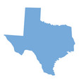 texas state map vector image